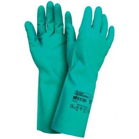 guante green defender nitrilo  manos guantes
