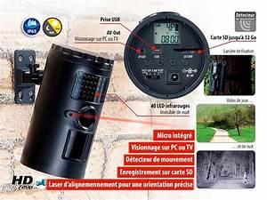 Camera Surveillance Infrarouge Vision Nocturne : cam ra de surveillance tanche et autonome avec vision nocturne irc ~ Melissatoandfro.com Idées de Décoration