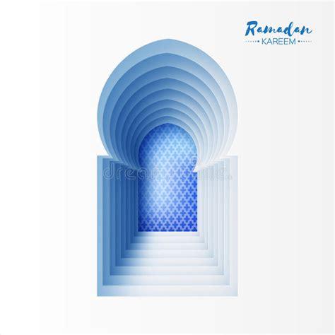 Carte Blanche Bleu by Carte Blanche Bleue De Ramadan Kareem Greeting De Fen 234 Tre