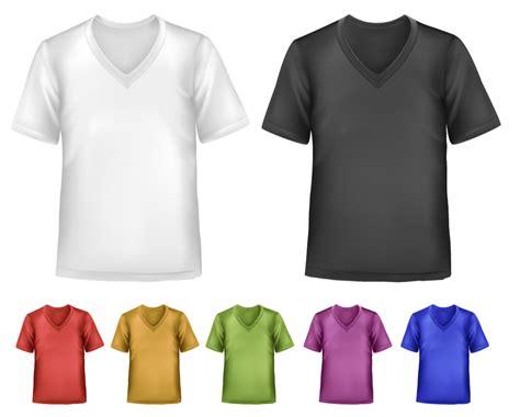 short sleeve  neck  shirts template vector  psd