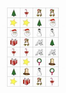 Spiele Für Weihnachten : domino zum thema weihnachten kindersprache ~ Frokenaadalensverden.com Haus und Dekorationen