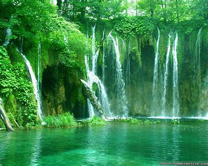Scenes Summer Wallpapers Waterfall Frankenstein Desktop Crazy