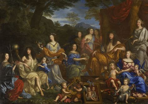 jean nocret louis xiv and the royal family the history blog 187 2012 187 november