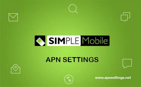 simple mobile apn settings iphone simple mobile apn settings 2017 setup guide for android