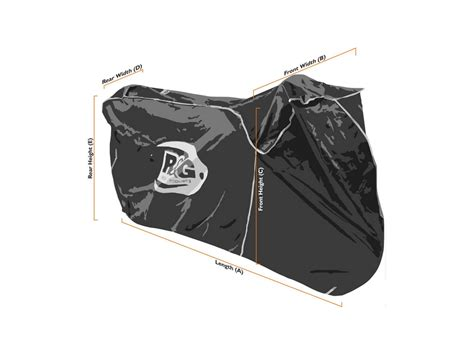 R&g Waterproof Motorcycle Cover For Cruising & Touring