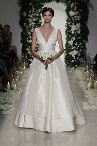 simple wedding gowns for the minimalist bride modern wedding With simple modern wedding dress