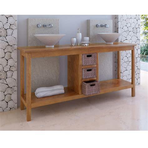bureau en bois exotique salle de bain en bois exotique chaios com