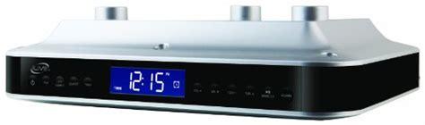 ilive ikb333s under cabinet radio with bluetooth speakers