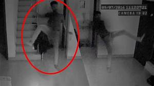 Cryptozoology Ghostly Figure Passing Caught On CCTV Camera ...