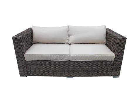 rattan settee 2 seater garden sofa uk brokeasshome