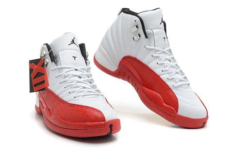 Air Jordans 12 Retro Whitevarsity Redblack For Sale