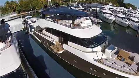 Miami Boat Show Statistics by Monte Carlo Yachts Miami Boat Show On Collins Avenue
