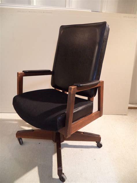 mid century office desk mid century executive desk chair at 1stdibs