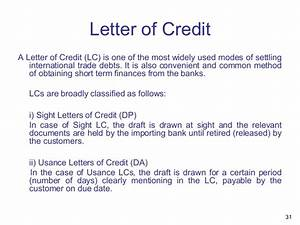 presentation overview of bank audit With loan against letter of credit