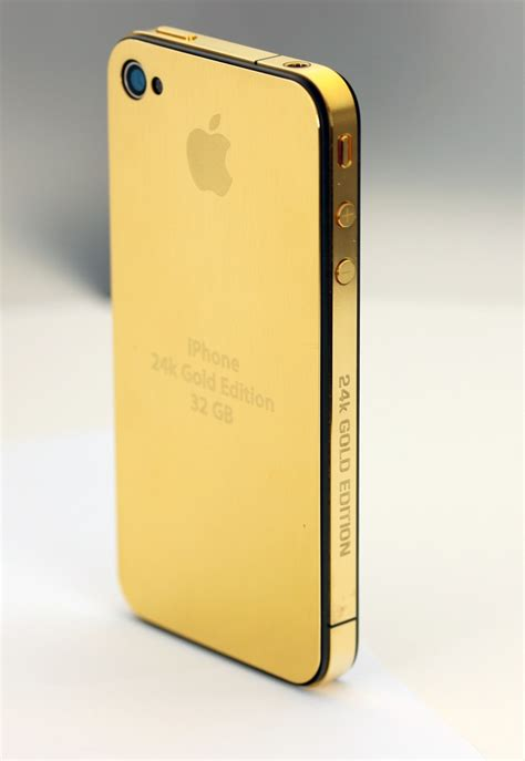 gold plated iphone