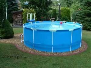 Frame Pool 366 : pool bestway steel pro frame pool 366 x 122 youtube ~ Eleganceandgraceweddings.com Haus und Dekorationen