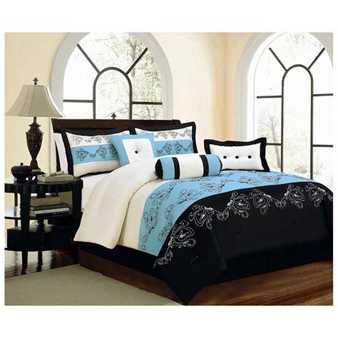 and black comforter sets black and blue bedding sets home furniture design