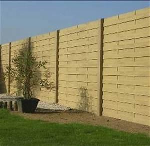 Cloture Beton Imitation Bois : cl tures b ton lambert cl tures ~ Dailycaller-alerts.com Idées de Décoration