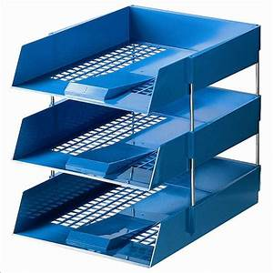 Initiative blue plastic letter tray for Plastic letter trays