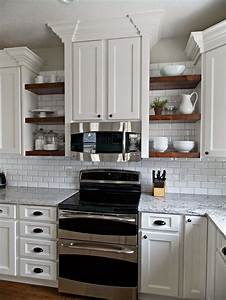 best 25 open shelving ideas on pinterest interiors With kitchen colors with white cabinets with biohazard stickers