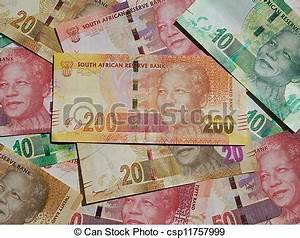 Money notes - south africa. New bank notes printed ...