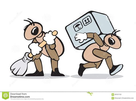 ant service ant service stock vector image 58161102