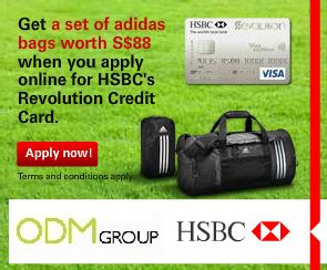 Maybe you would like to learn more about one of these? HSBC Credit Card Promotion Gift - Adidas Bag