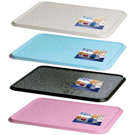 Pet Doormat by Cat Bowl Mat Pet Feeding Water Food Dish Tray Wipe