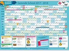 Kalender 2018 Schoolvakanties
