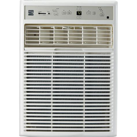 kenmore  btu window mounted mini compact air conditioner