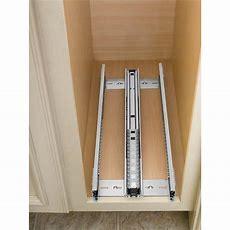 Cabinetorganizers  Adjustable Wood Pullout Organizers