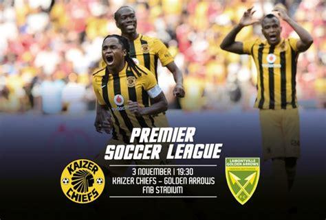 Arrows have not reported injuries from their camp ahead of this clash, meaning komphela is spoilt for choice as he prepares to face his former club. Kaizer Chiefs V Golden Arrows In Numbers