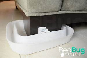 how to get rid of bed bugs on couches and furniture With bed bug climb ups