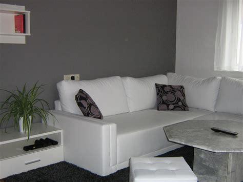 Wohnzimmer Weiss Grau wohnzimmer wohnzimmer in grau wei 223 gr 220 n mein domizil
