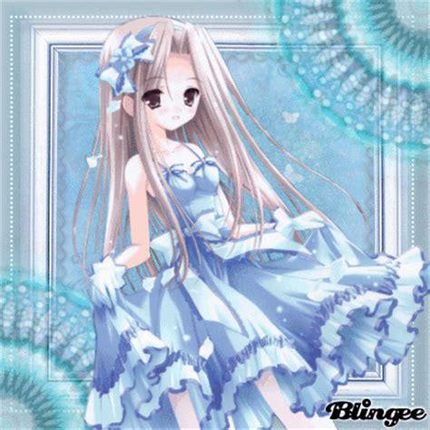 Light Blue Anime Girl]÷·•)— Picture #130494130 Blingeecom