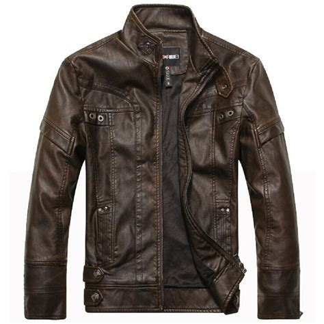 leather apparel brand motorcycle leather jackets men autumn and winter