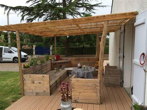 salon de jardin  pallets garden set  pallets