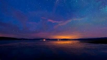 Sky Night Starry Title