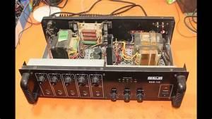 Ahuja Amplifier Repair  This Amplifier Has Short Circuit