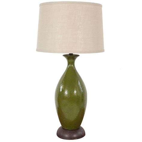 Urn Table Lamps by Green Ceramic Urn Table Lamp At 1stdibs