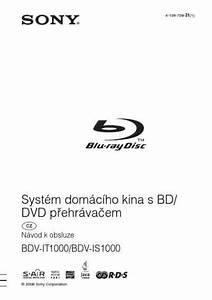 Sony Bdv Is1000 Home Theater Download Manual For Free Now