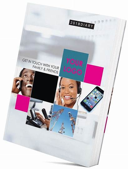 Diary Pages Phone Printed Laminated Customize Telecom