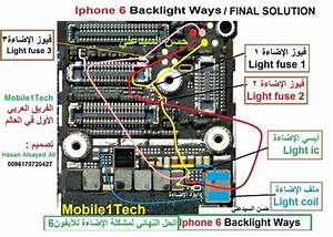 Iphone 6 All Schematic Diagram 100  Working Jumper Em 2020  Com Imagens