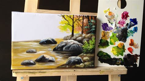 how to paint a l how to paint stones and rocks with acrylic lesson 2 youtube