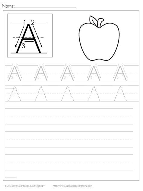 handwriting worksheets  kids easy