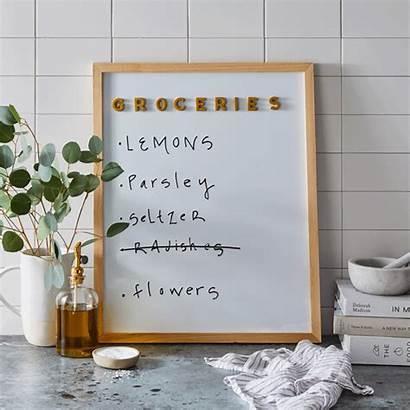 Letter Magnetic Boards Food52 Letters Board Kitchen