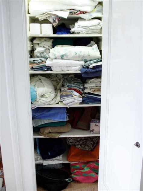 Organizing A Linen Closet Hgtv