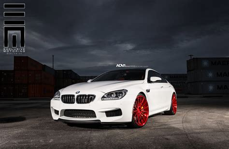 Bmw M6 Gran Coupe  Adv15 Mv2 Concave Wheels Brushed