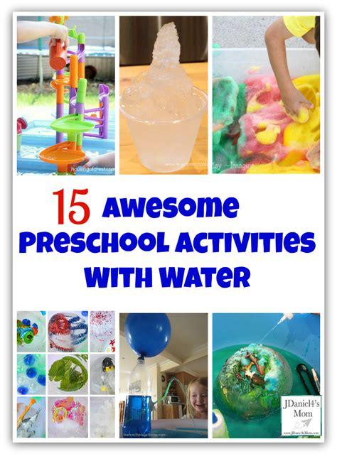 awesome preschool activities with water 876 | 15 Awesome Preschool Activities with Water