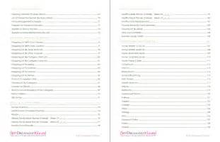 home organization worksheets household to do lists